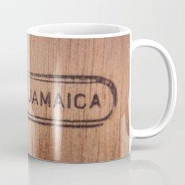 Wood Made in Jamaica dark Coffee Mug