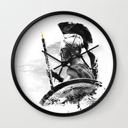 Oboe Warrior Wall Clock
