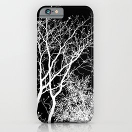 Branching Out In Light And Dark iPhone Case