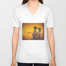 Casablanca film poster - The End Unisex V-Neck