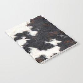 Brown Cowhide Notebook