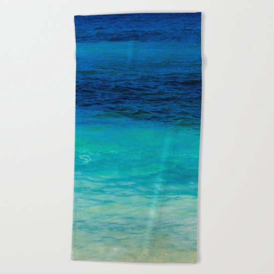 SEA BEAUTY Beach Towel