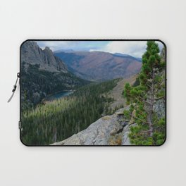 Rocky Mountain View: Odessa Lake Laptop Sleeve
