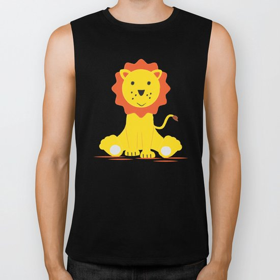 Small lion Biker Tank
