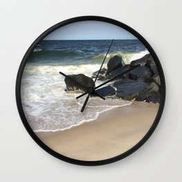 Baesic Belmar Beach Wall Clock
