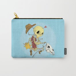Cowboy Skull Carry-All Pouch