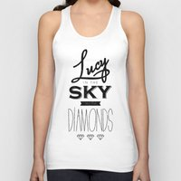 marina and the diamonds Tank Tops featuring lucy with diamonds by marina pb