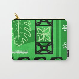Hawaiian Pattern #1 - green! Carry-All Pouch