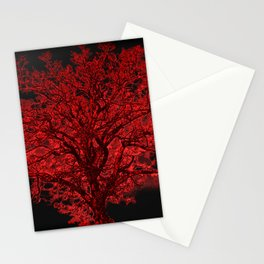 Red Tree A182 Stationery Cards