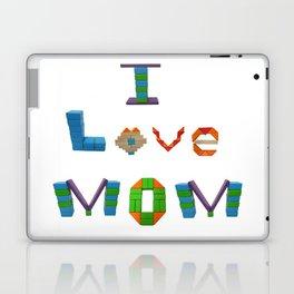 I Love Mom Laptop & iPad Skin