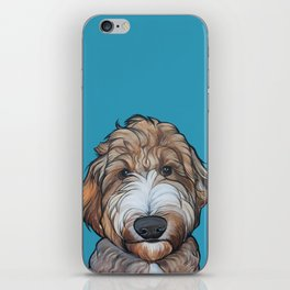 Seamus the Labradoodle iPhone Skin