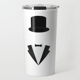 top-hat and smoking Travel Mug