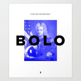 BOLO 1 cover Art Print