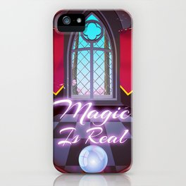 Magic Is Real iPhone Case