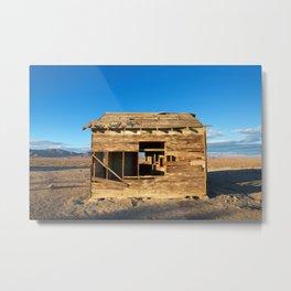 Desert Shack Metal Print