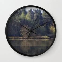Spring at the Pike Wall Clock