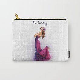 dancing ballerina1 Carry-All Pouch