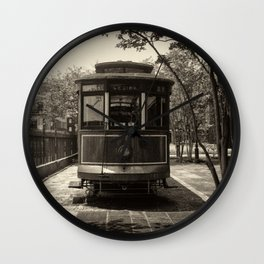 Streetcar Named Desire - New Orleans 1988 Wall Clock