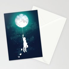 Burn the midnight oil Stationery Cards