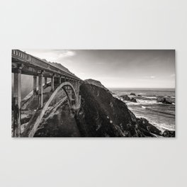 Bixby Bridge - California Canvas Print