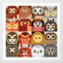 North American Owls by jevaart