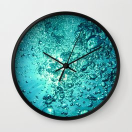 Thirsty Sprite Bubble Wall Clock