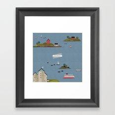 Turku Archipelago Framed Art Print