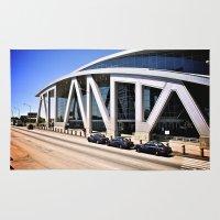 atlanta Area & Throw Rugs featuring Atlanta by Dion Reid