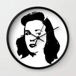 Deanna Durbin Is Class Wall Clock