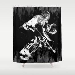 Ice Hockey Goalie Shower Curtain