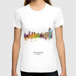 Wilmington Delaware Skyline T-shirt