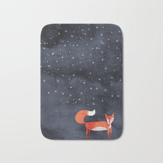 Fox Dream Bath Mat