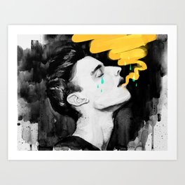 Don't Cry Art Print