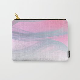 Flow Motion Vibes 1. Pink, Violet and Grey Carry-All Pouch