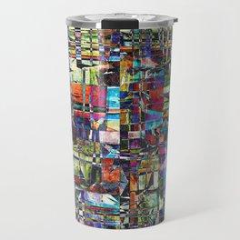 Colorful Chaotic Composite Travel Mug