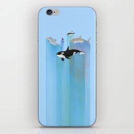 Ever Blue (alternate color) iPhone Skin