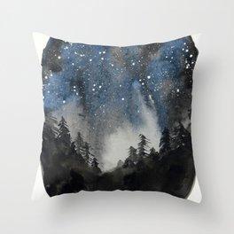 Wilderness Sky Throw Pillow