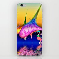 techno iPhone & iPod Skins featuring Techno pod by Shalisa Photography