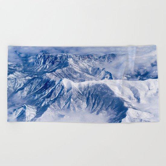 Mountain High Beach Towel