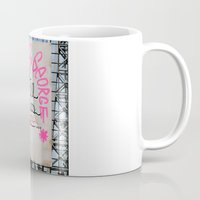 rileigh smirl Mugs featuring I Will Miss You-NYC by Rileigh Smirl