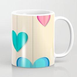 Hangin Hearts Coffee Mug
