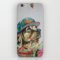 labrador iPhone & iPod Skins featuring LABRADOR by EDSON RAMOS