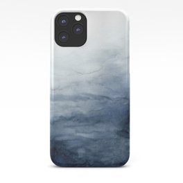 Indigo Abstract Painting | No.2 iPhone Case