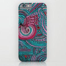 Drawing Meditation - Turquoise Slim Case iPhone 6s