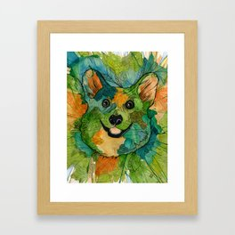 Squish Squish Framed Art Print