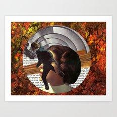 Portal to Mars Art Print
