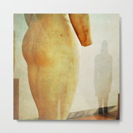 Ancient Greek Art Naked Statue Erotic Photography LGBT Metal Print