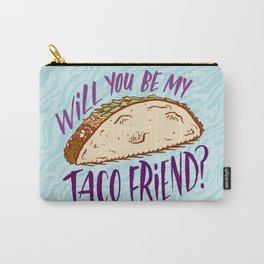 Taco Friend Carry-All Pouch
