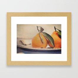 Clementines 7 Framed Art Print