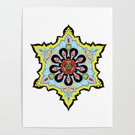 Alright linda belcher mandala kaleidoscope Poster